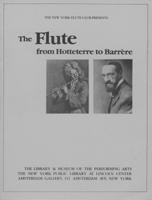The Flute from Hotteterre to Barrère (1980)