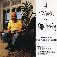 A Tribute to Otto Luening (CD)