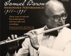 Samuel Baron: Memorable Performances 1966-1996 (CD)