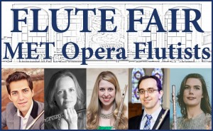 Flutists of the Metropolitan Opera